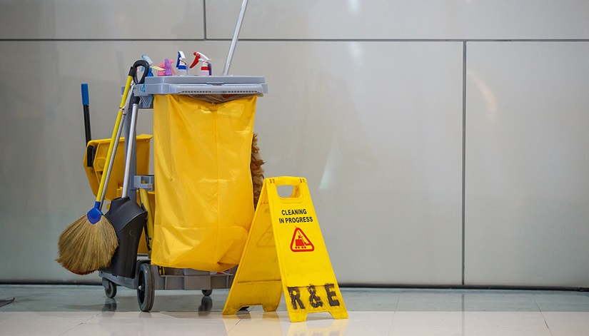 Регулярная уборка в торговых центрах