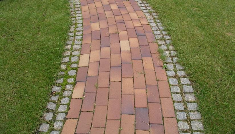 Мойка тротуарной плитки