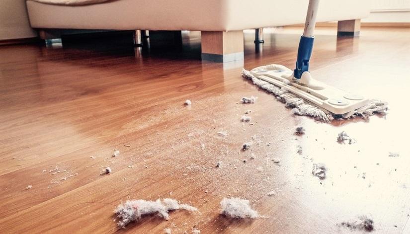 Как убрать пыль