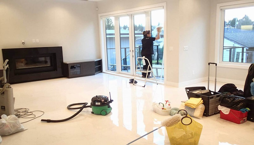 Срочная уборка загородного дома